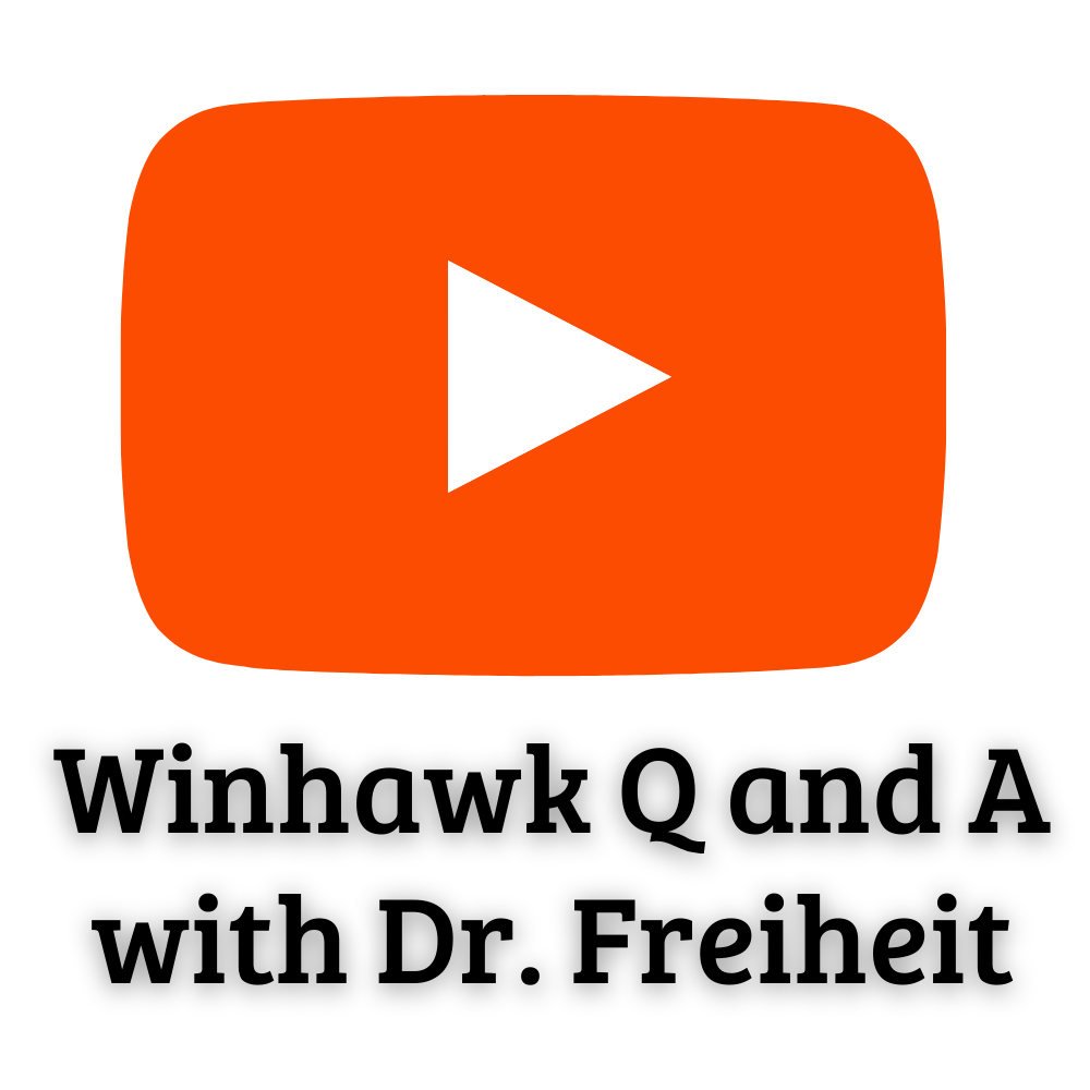 Winhawk Q and A with Dr. Freiheit
