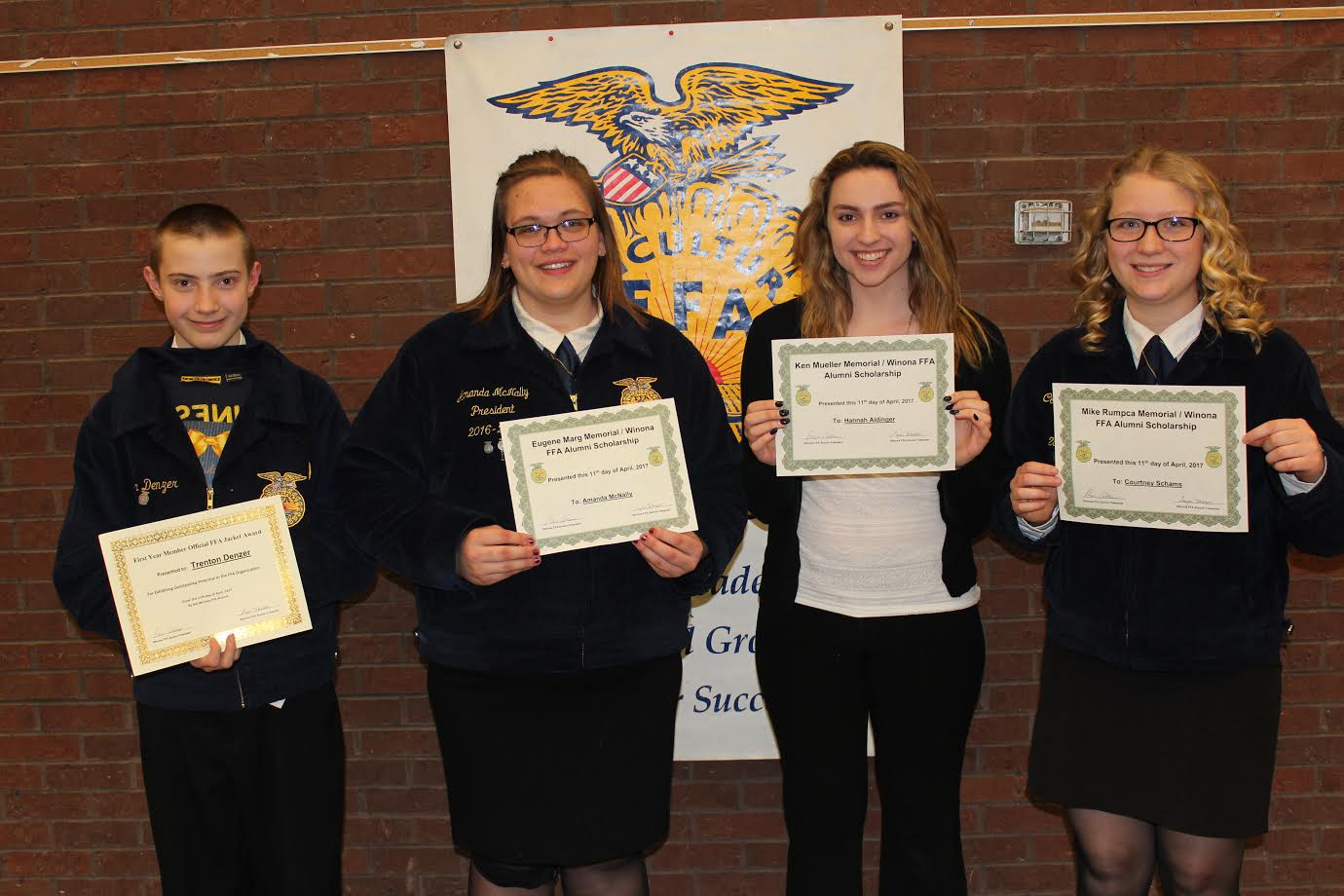Winona FFA Named Top 10 Chapter