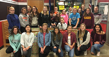 WSHS Student Council donates to 10 Days of Giving