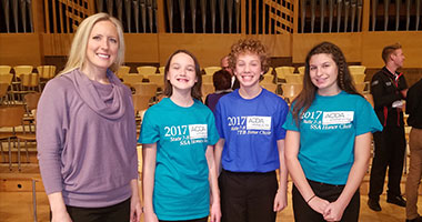 WAPS Student Musicians Selected for MN State Honor Choirs