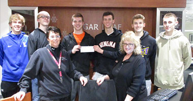 Boys Basketball Team Hosted Drive One for your Schools
