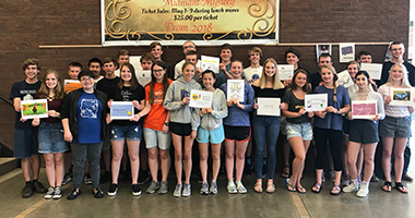WSHS Spanish Honor Society Inducted 34 Students