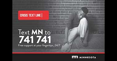 NEW: MN Crisis Text Line