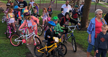 National Walk/Bike to School Day